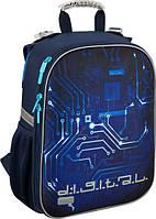 Рюкзак школьный каркасный Kite 531 Digital для мальчиков