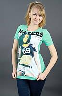 Молодежная женская футболка 1613