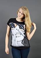 Летняя женская футболка 1615