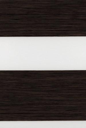 Тканевые ролеты День-ночь. Венге 150 см х 170 см. Готовые размеры.