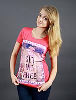 Молодежная женская футболка 1612