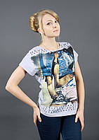 Женская футболка с рисунком 1614