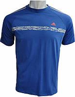 Мужская футболка Адидас из хлопка, футболка Adidas