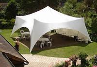 Шатер Спайдер, прокат шатра без штор, 65кв.м от 2х дней