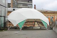 Аренда геодезического купола на 78 кв.м шатер в аренду (вместительность 60-80 человек)