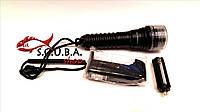 Фонарь для подводной охоты Bailong BL-A3, аккумуляторный