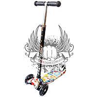 Самокат детский 3-х колёсный Scooter Art