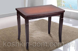 Стол обеденный Эрика орех-патина шпон дуба 60(+60)*90 см