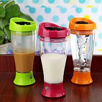 Миксер-стакан для молока на батарейках Skinny Moo