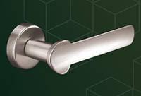 Ручка  дверная    510010-403 mp19, yuvarlak WC (круг WC), сталь шлиф.