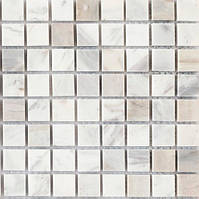 Светло-серая мраморная мозаика Vivacer SPT017