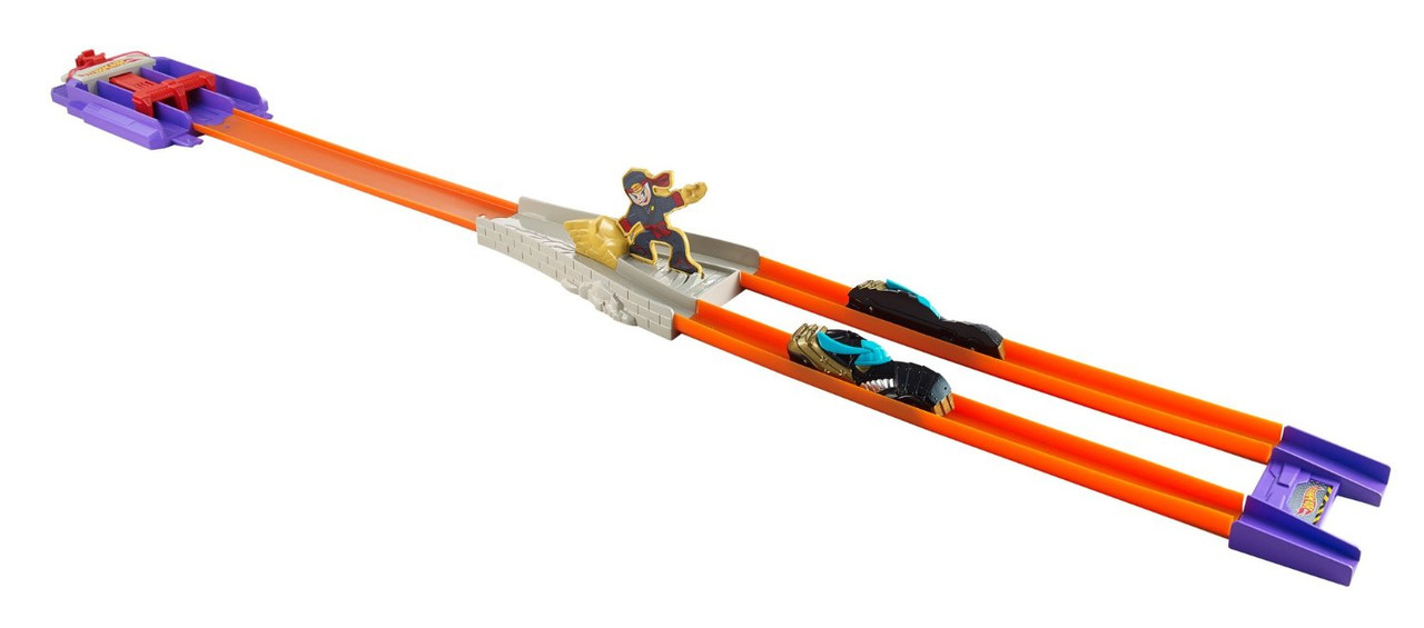 Hot Wheels Трек Молниеносные половинки Атака Ниндзя Action Track Set Split Speeders Ninja Chop