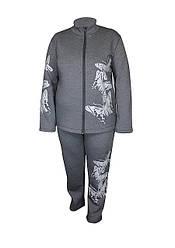 Теплый спортивный костюм с начесом Бабочки