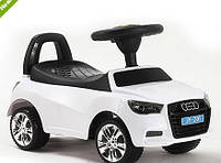 Каталка-толокар машинка Bambi Audi (ауди) белая