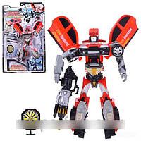 """Робот трансформер из серии """"Роботы Спасатели"""" Joy Toy, арт. 8072 HN"""