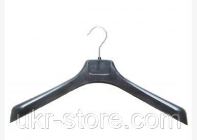 Плечики-вешалка с широкими плечиками и поворотным крючком
