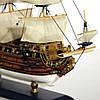 Модель корабля парусник Le Soleil Royal 30 см С23-3, фото 6