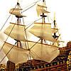 Модель корабля парусник Le Soleil Royal 30 см С23-3, фото 8