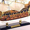 Модель корабля парусник Le Soleil Royal 30 см С23-3, фото 9