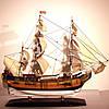 Модель корабля Bounty 45 см С21-1, фото 10