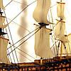 Модель корабля парусник Victory 30 см С27-3, фото 4