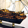 Модель корабля парусник Victory 30 см С27-3, фото 6