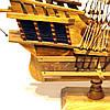 Модель корабля из дерева 50 см SANTA MARIA 1492, фото 8