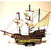 Модель корабля из дерева 50 см SANTA MARIA 1492, фото 9