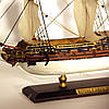 Модель парусного корабля Royal Caroline 30 см С03S3, фото 7