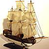 Модель парусного корабля Royal Caroline 30 см С03S3, фото 10