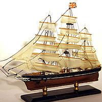 Модель корабля парусник Cutty Sark 30 см С21-3