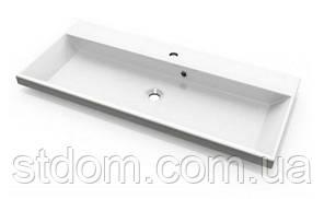 Мебельная раковина Fancy Marble Laurine 998 100x45 белый