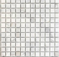 Белая каменная мозаика для декора ванной Vivacer SPT025