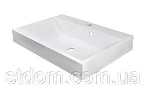 Мебельная раковина Fancy Marble Varna 600x420 5106101 белая