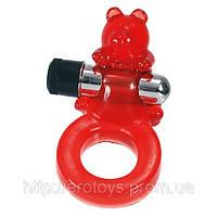 """Эрекционное вибро кольцо """"Медвежонок"""" Jelly Bear Cock Ring"""