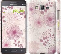 "Чехол на Samsung Galaxy J7 J700H цветочный узор м3 ""2259c-101"""