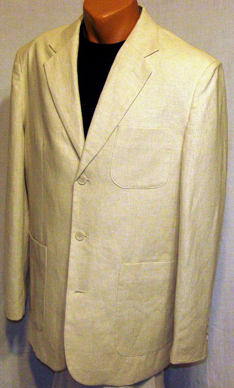 Пиджак льняной Sergio Vitti (48-50)