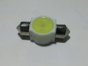 Светодиодная софитная автолампа T10, 29-31mm, (40 Lm) ceramic lamp