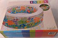 """Надувной бассейн Intex 58480 """"Аквариум"""" 152*56 см"""