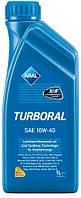 Моторное масло ARAL Turboral 10W40, 1 л