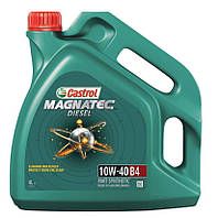 Моторное масло CASTROL Magnatec Diesel 10w40 B4, 4 л