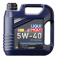 Моторное масло Liqui Moly Optimal Synth 5W40, 4 л