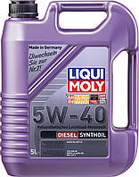 Моторное масло Liqui Moly Diesel Synthoil 5W40, 5 л