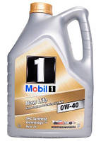 Моторное масло MOBIL 1 NEW LIFE 0W40, 5 л