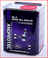 NANOPROTEC GEAR OIL 80W-90 GL-4, 1л.