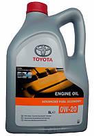 Масло моторное Toyota Fuel Economy 0w20 5L, 5 л