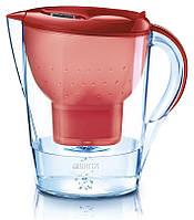 Фильтр-кувшин для очистки воды «Brita Marella»,красный