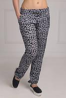 Современные летние штапельные женские брюки Размеры:XL, XXL