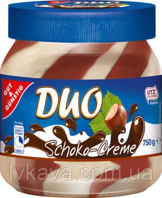 Шоколадно-ореховый крем Duo Schoko-creme , 700гр, фото 2