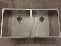 Мойка  Fabiano Quadro 86 Double (под столешницу) (1,20 мм)